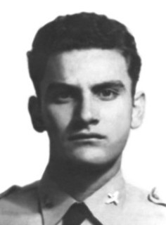 Subtte. P.A. Mario López Portillo.  + 21 Julio 1945.