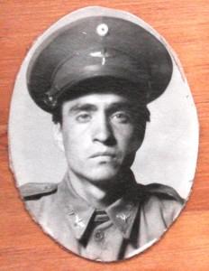 Sgto. 1o. Arm. Raúl Alvarez Ortega