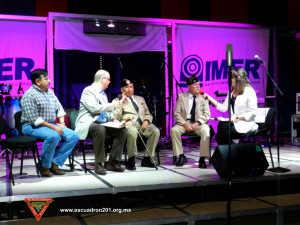 La grabación del programa se llevo a cabo en los estudios del Instituto Mexicano de la Radio.
