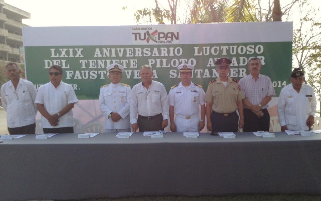 Autoridades Navales, Militares y Municipales presidieron la Ceremonia