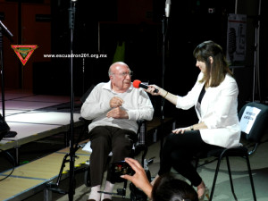 Subtte. FAPA. Ret. Sergio Carrillo Díaz, entrevistado por Ileana Rodriguez, conductora del programa.