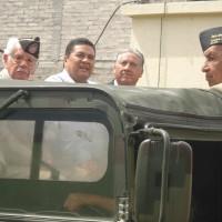 Presidente Municipal de Tepoztlán y Veteranos de la FAEM.