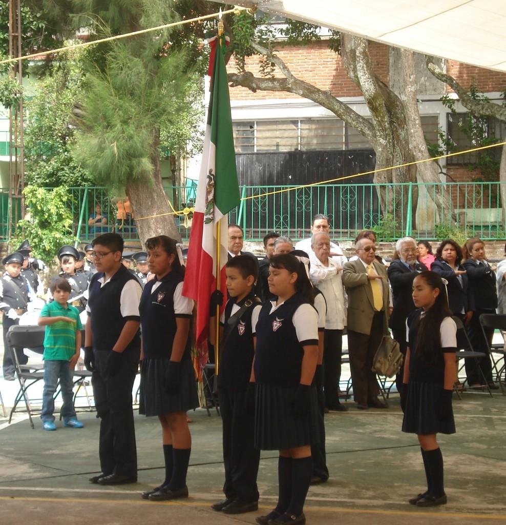 Escolta de la Escuela Escuadrón 201.