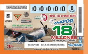 Billete conmemorativo 2014