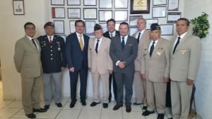 Reunión con el Subsecretario de Gobierno del estado de México, Arq. Benjamín Fournier Espinoza.