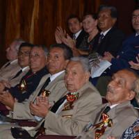 Miembros de la Asociación durante el festejo.