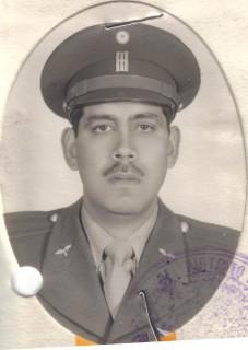 Cap. Ramón Caracas Enríquez. + 28 Julio 1975.