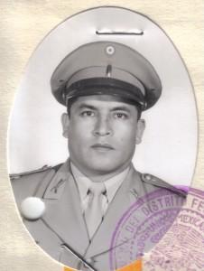 Sgto. 1/o. Enríque Domínguez Rendón. + Julio 2001.