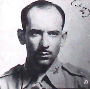 Tte. P.A. Javier Martínez Valle. + 10 Marzo 1945.