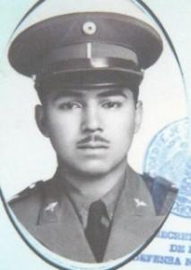 Tte. P.A. Jacobo Estrada Luna. + 8 Marzo 1955.